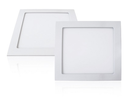 EcoVision LED downlight 18W, 1800lm, 4000K, 200x200mm